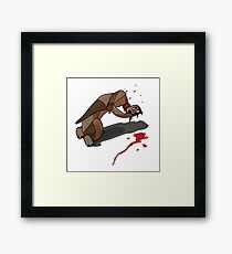 Illustration Cigar Framed Print