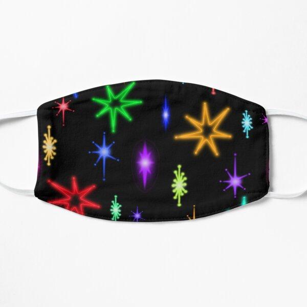 lebowski neon stars  Flat Mask