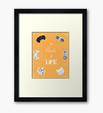 The Circle Of Video Games Framed Print