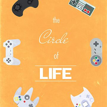 The Circle Of Video Games by greatskybear