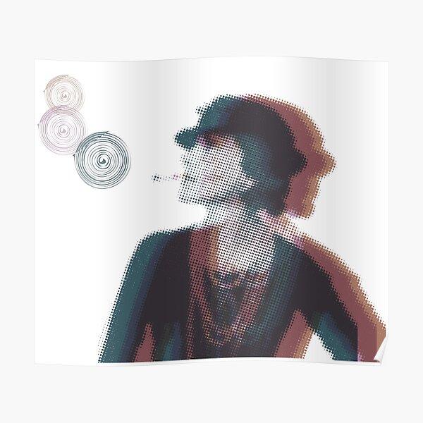 l'icône de la mode Poster