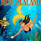 Dive New Zealand by Terry Fitzgibbon
