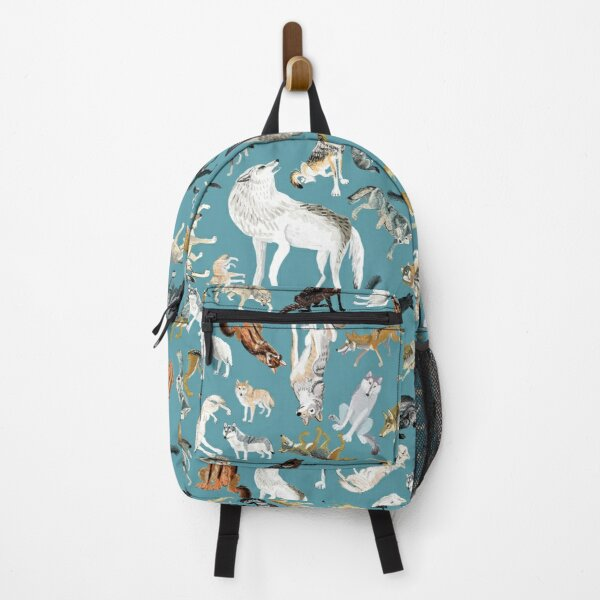 Wolves of the World pattern 2 Backpack