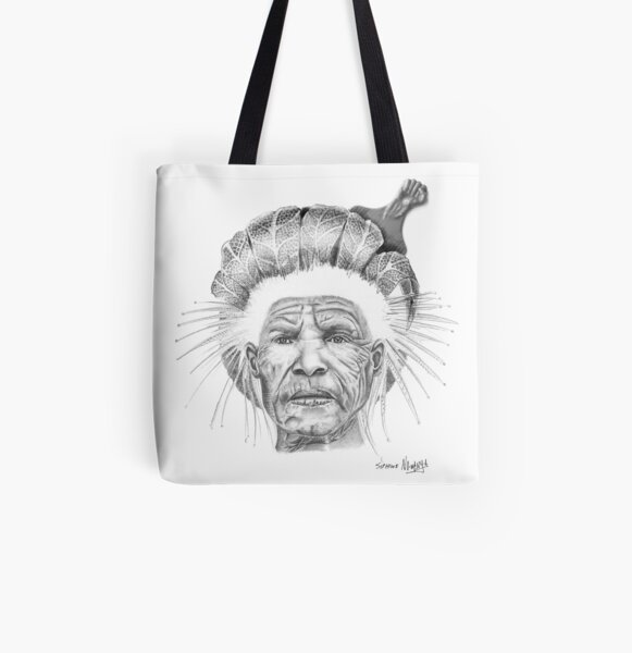 The Sun Queen All Over Print Tote Bag