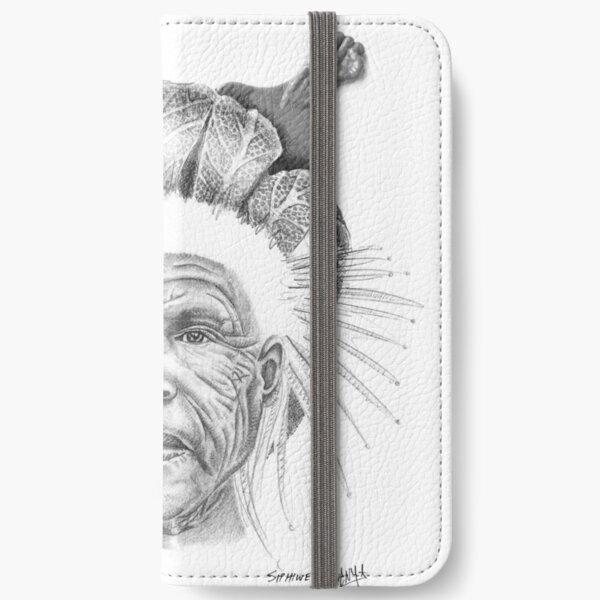 The Sun Queen iPhone Wallet