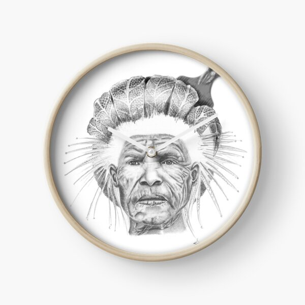 The Sun Queen Clock