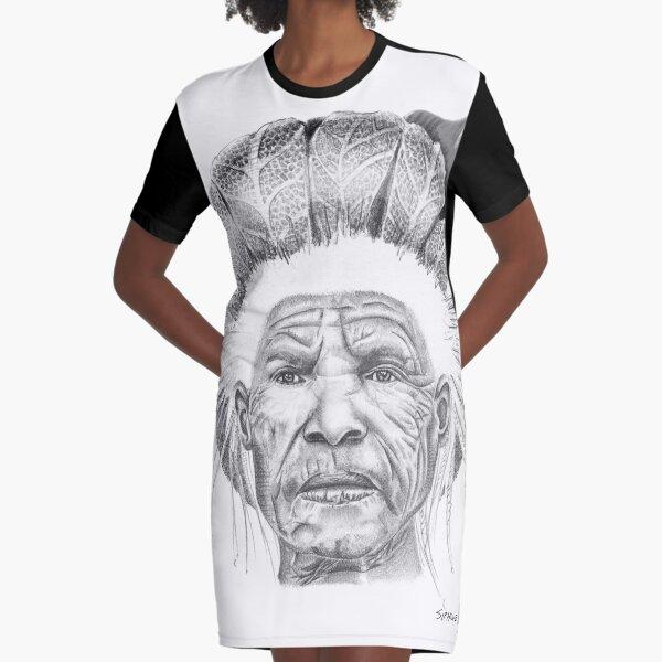 The Sun Queen Graphic T-Shirt Dress