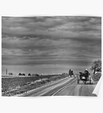 Lancaster County PA Amish Poster