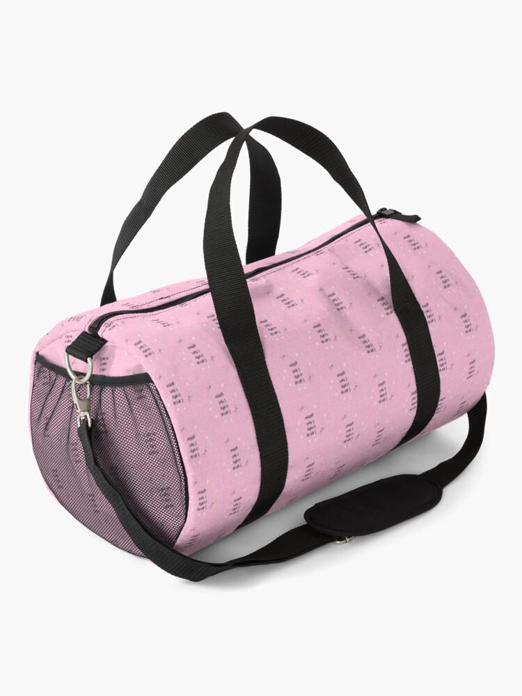 Alternate view of I am so crafty I fart glitter Duffle Bag