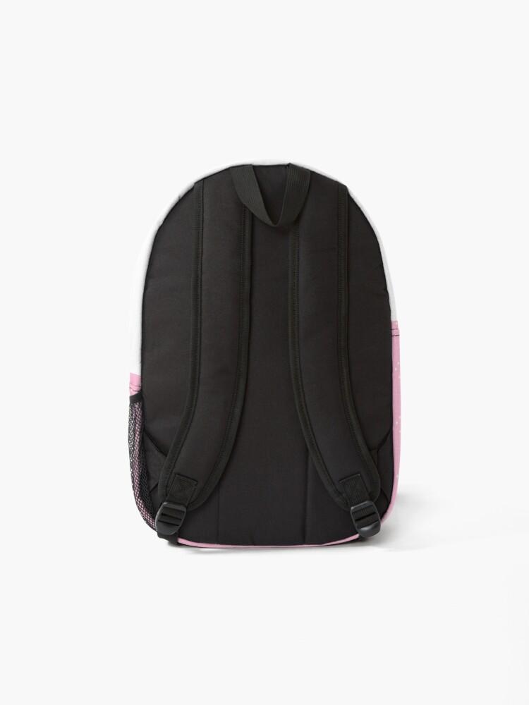 Alternate view of I am so crafty I fart glitter Backpack
