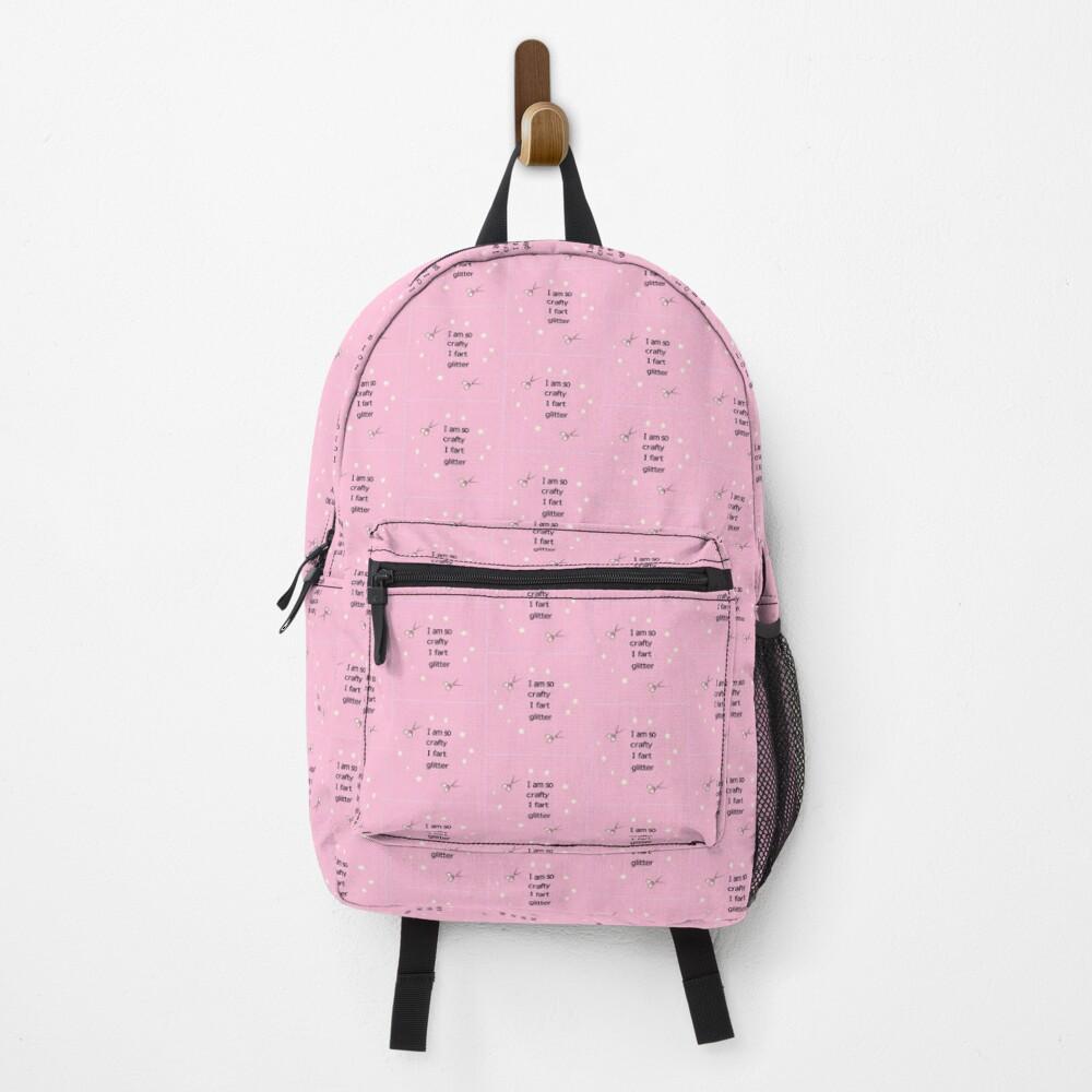 I am so crafty I fart glitter Backpack