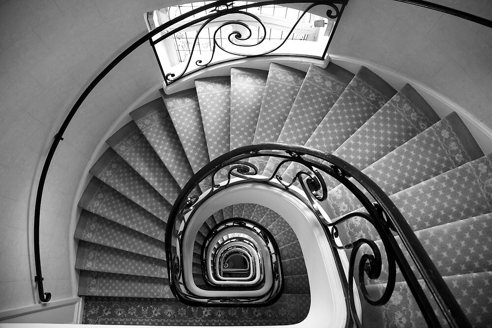 staircase - mercure central lille by mike parker