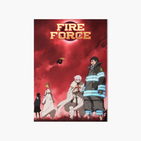 Fire Force Wallpaper Art Board Prints Redbubble See more ideas about fire, shinra kusakabe, fire brigade. redbubble