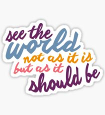 See The World #2 Sticker