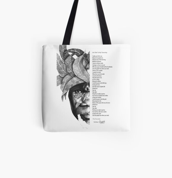 An Ode To My Township All Over Print Tote Bag