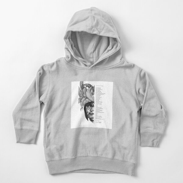 An Ode To My Township Toddler Pullover Hoodie