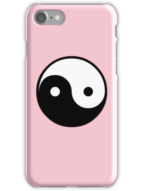 YIN YANG iPhone by Kevin McLeod