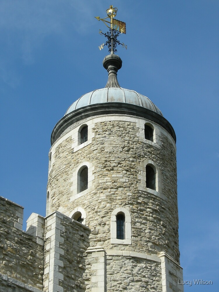 Tower Of London - The Round Tower by Lucy Wilson