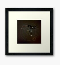 Welcome to the Sol System Framed Print
