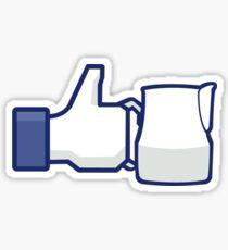 'Like' a Barista Sticker