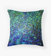 Illumination by Florida Artist John E Metcalfe Throw Pillow
