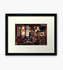 Smoking Lounge Framed Print