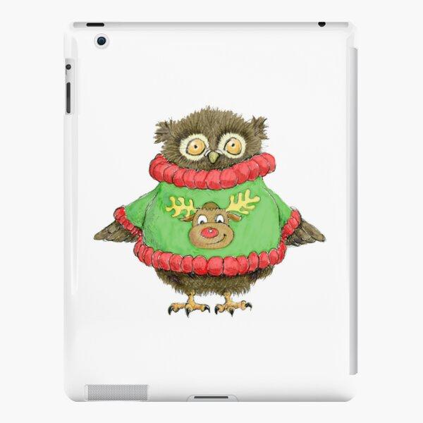 Have a Hoot at Christmas iPad Snap Case