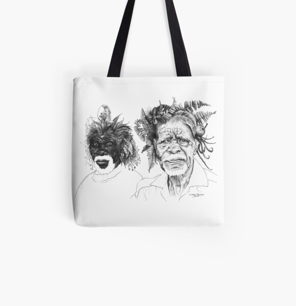 The Great Sunmen - By Siphiwe Ngwenya All Over Print Tote Bag