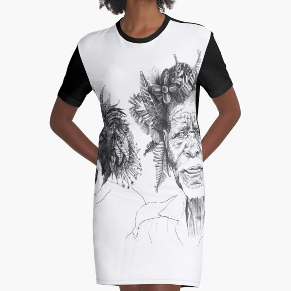The Great Sunmen - By Siphiwe Ngwenya Graphic T-Shirt Dress