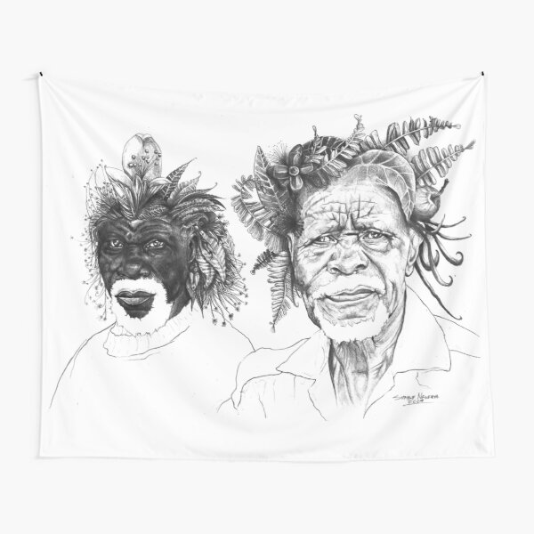 The Great Sunmen - By Siphiwe Ngwenya Tapestry