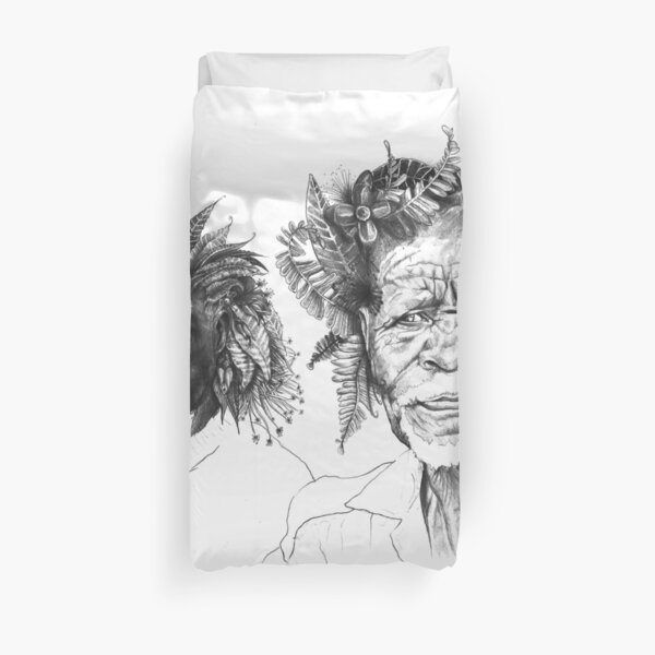The Great Sunmen - By Siphiwe Ngwenya Duvet Cover