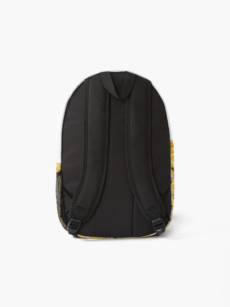 Alternate view of Bees on Honeycomb Backpack