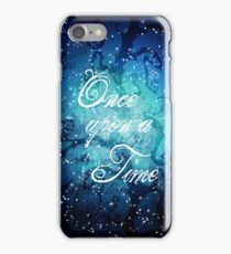 Once Upon A Time ~ Winter Snow Forest iPhone Case/Skin