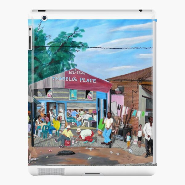 Tommy Machaba - Over at the Shebeen iPad Snap Case