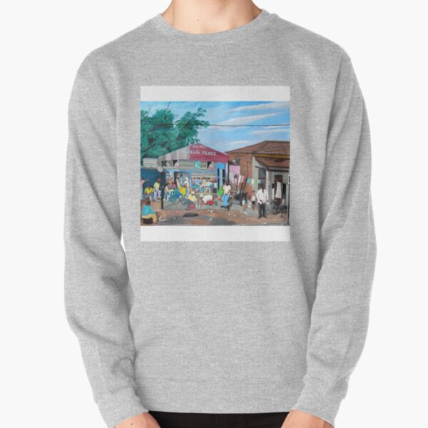 Tommy Machaba - Over at the Shebeen Pullover Sweatshirt