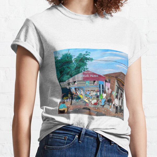 Tommy Machaba - Over at the Shebeen Classic T-Shirt