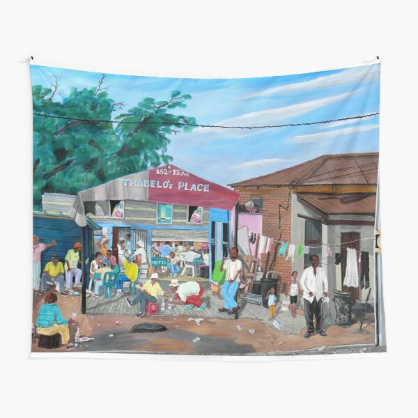 Tommy Machaba - Over at the Shebeen Tapestry
