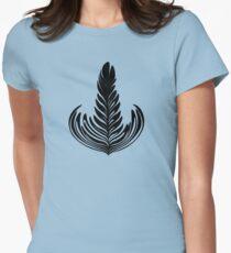 Rosetta black Womens Fitted T-Shirt