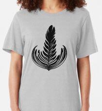Rosetta black Slim Fit T-Shirt