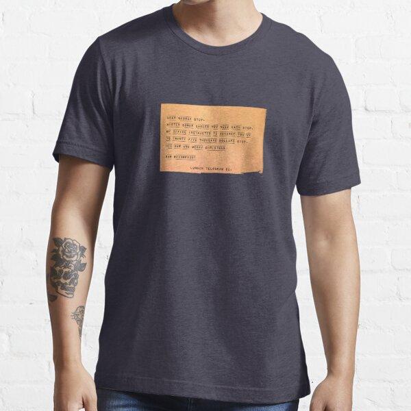 Hee Haw and Merry Christmas, Sam Wainwright Essential T-Shirt
