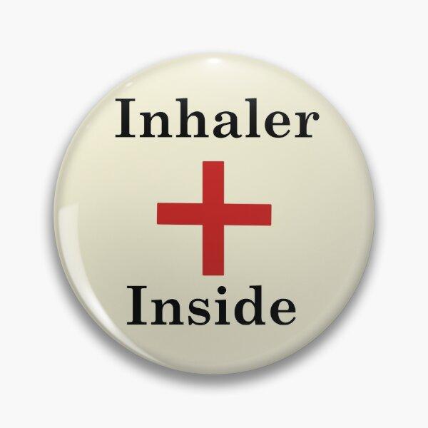 Inhaler Inside,Asthma Pin