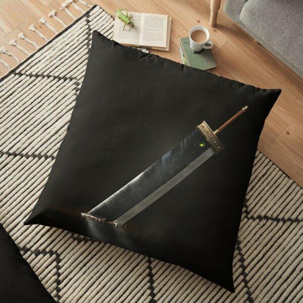 Final Fantasy VII Opening Artwork Floor Pillow