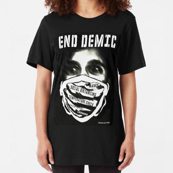 End Demic Slim Fit T-Shirt