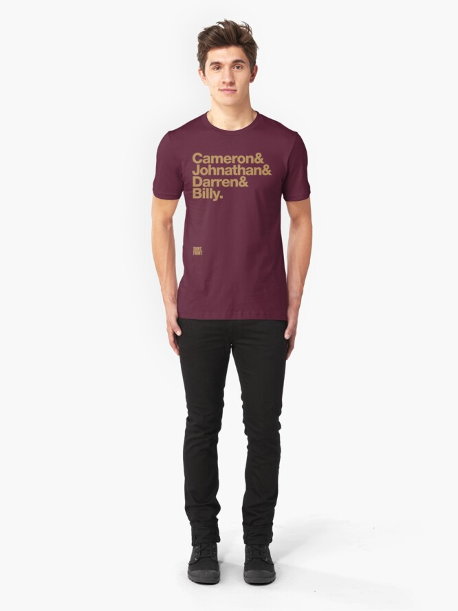 Alternate view of Fab Four: Maroons '11 Slim Fit T-Shirt