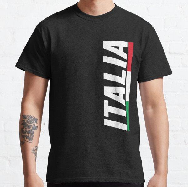 Italia Italy Italian Flag Souvenir Gift Love Classic T-Shirt