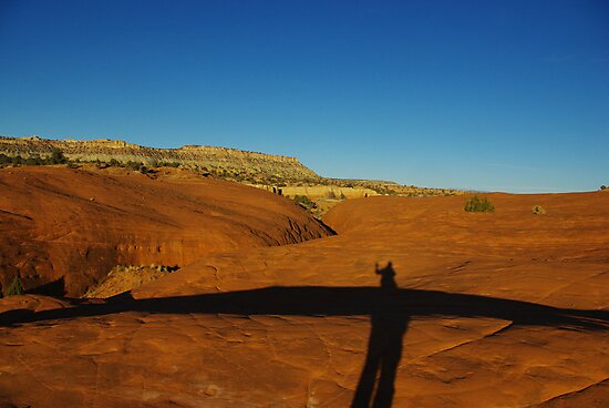 Near Devils Garden, Grand Stair Escalante National Monument, Utah by Claudio Del Luongo