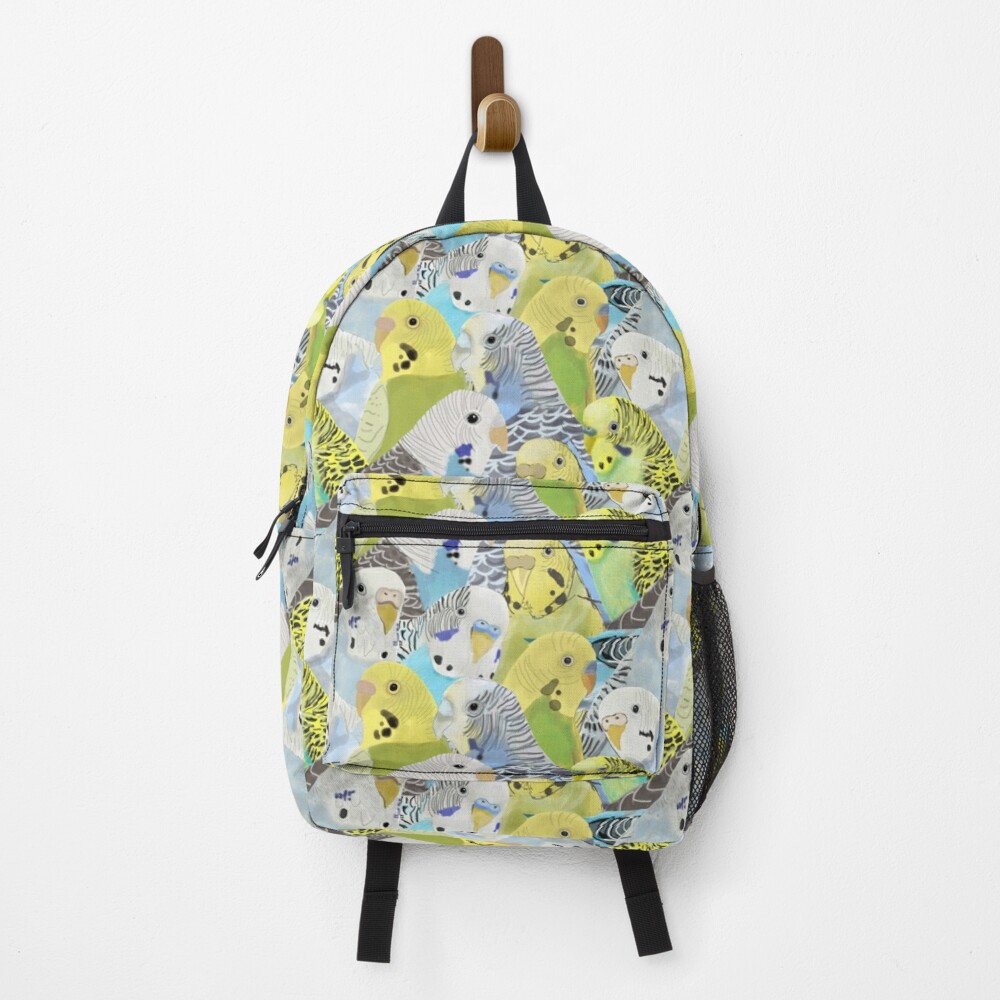 Budgie Parakeets Backpack