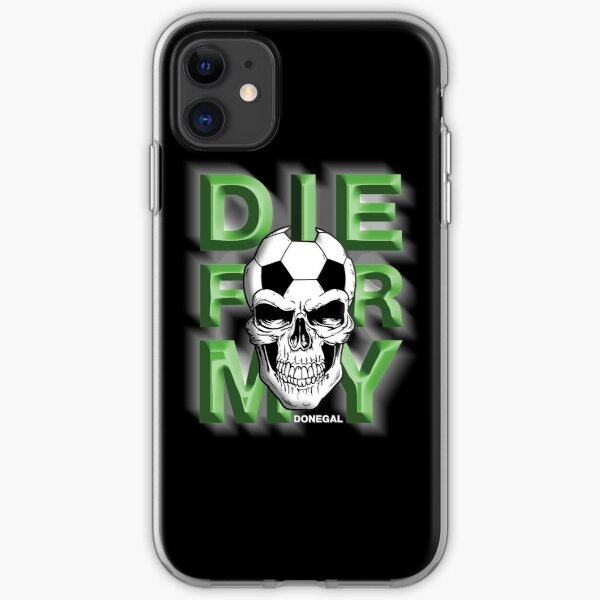 Die For My City From Ireland Donegal iPhone Soft Case