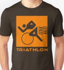 Triathlon one logo Unisex T-Shirt