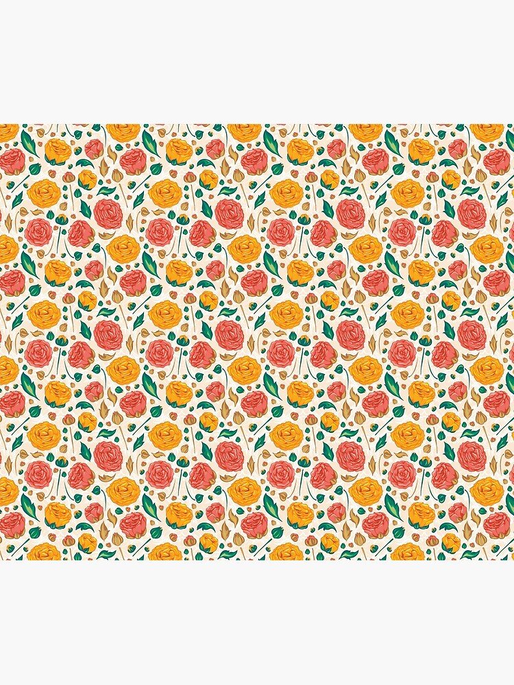 Floral pattern on by starchim01